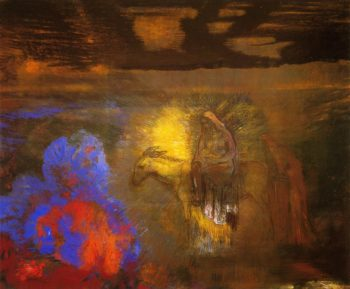 The Flight into Egypt | Odilon Redon | oil painting