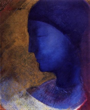 The Golden Cell | Odilon Redon | oil painting