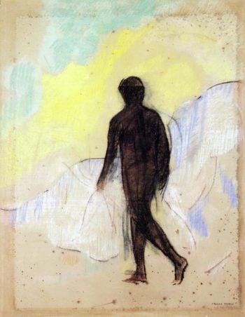The Man | Odilon Redon | oil painting