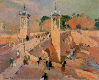 Puente de Real | Joaquin Sorolla y Bastida | oil painting