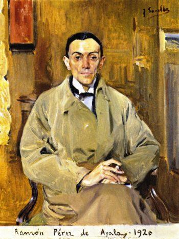 Ramon Perez de Ayala | Joaquin Sorolla y Bastida | oil painting