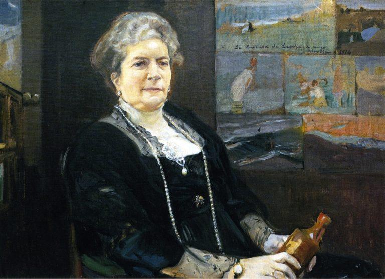 Regla Majon Countess of Lebrija | Joaquin Sorolla y Bastida | oil painting