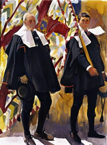 Roncal Valley Types | Joaquin Sorolla y Bastida | oil painting