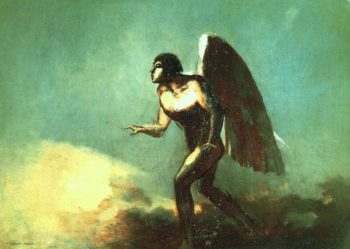 The Winged Man | Odilon Redon | oil painting