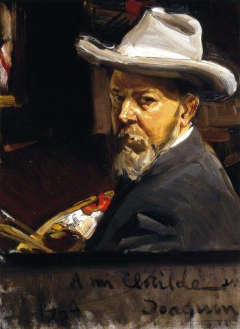 Self Portrait | Joaquin Sorolla y Bastida | oil painting