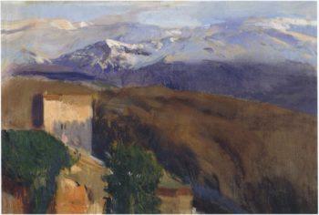 Sierra Nevada Granada | Joaquin Sorolla y Bastida | oil painting