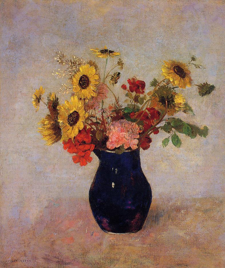 Vase of Flowers 11 | Odilon Redon | oil painting