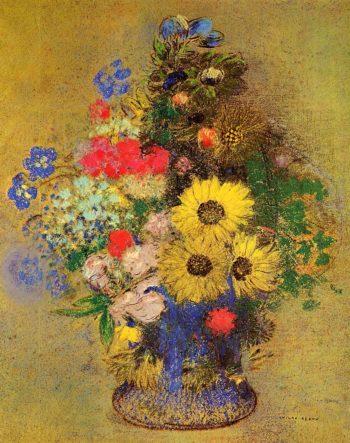 Vase of Flowers 12 | Odilon Redon | oil painting