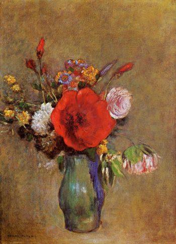 Vase of Flowers 13 | Odilon Redon | oil painting