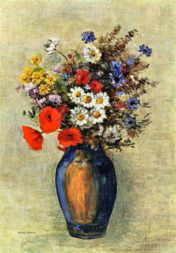 Vase of Flowers 14 | Odilon Redon | oil painting