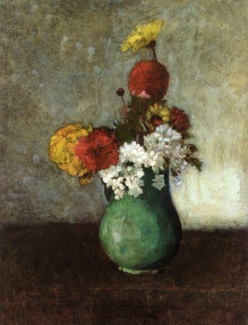 Vase of Flowers 15 | Odilon Redon | oil painting