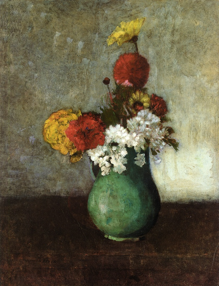 Vase of Flowers 15 | Odilon Redon | oil painting
