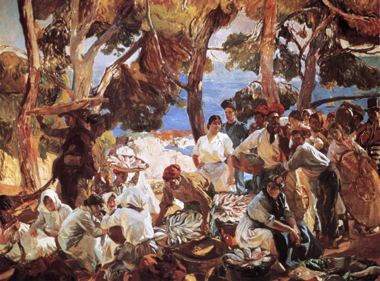 The Fish | Joaquin Sorolla y Bastida | oil painting
