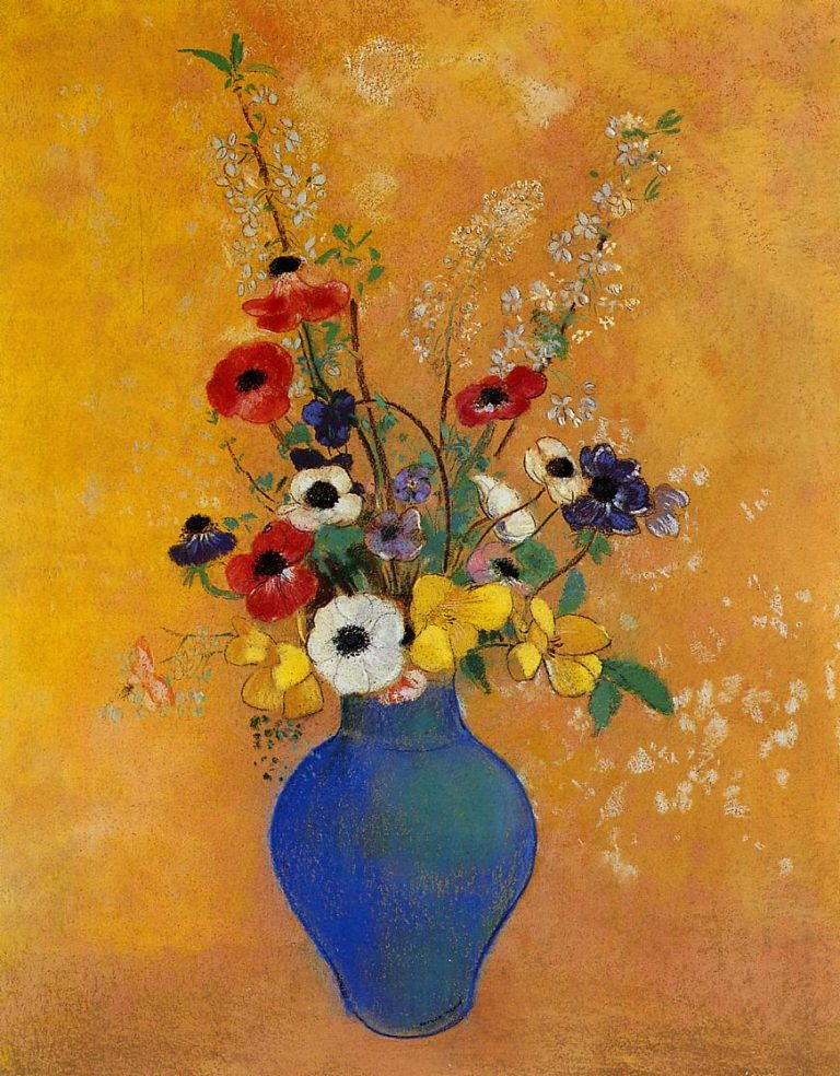 Vase of Flowers 4 | Odilon Redon | oil painting