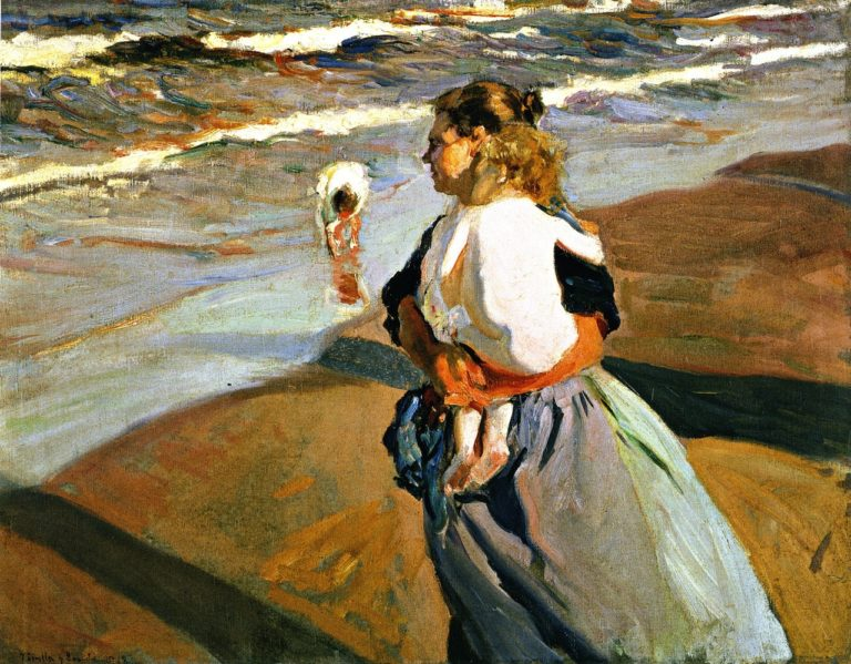 The Grandson | Joaquin Sorolla y Bastida | oil painting