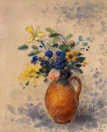Vase of Flowers 5 | Odilon Redon | oil painting