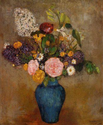 Vase of Flowers 9 | Odilon Redon | oil painting