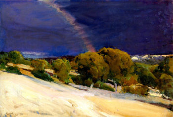 The Rainbow | Joaquin Sorolla y Bastida | oil painting