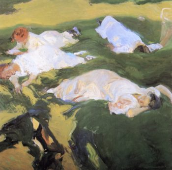 The Siesta 1 | Joaquin Sorolla y Bastida | oil painting