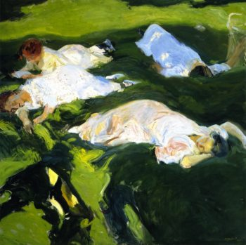 The Siesta | Joaquin Sorolla y Bastida | oil painting