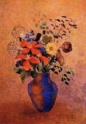 Vase of Flowers | Odilon Redon | oil painting