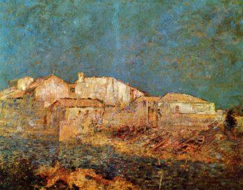 Venetian Landscape | Odilon Redon | oil painting