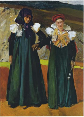 Types from the Anso Valley | Joaquin Sorolla y Bastida | oil painting