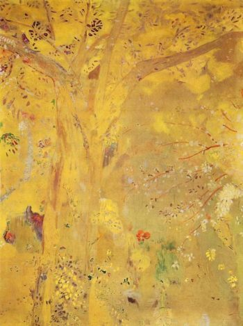 Yellow Tree | Odilon Redon | oil painting