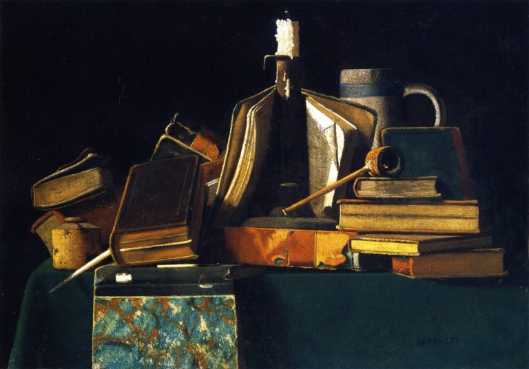 After Night's Study | John Frederick Peto | oil painting