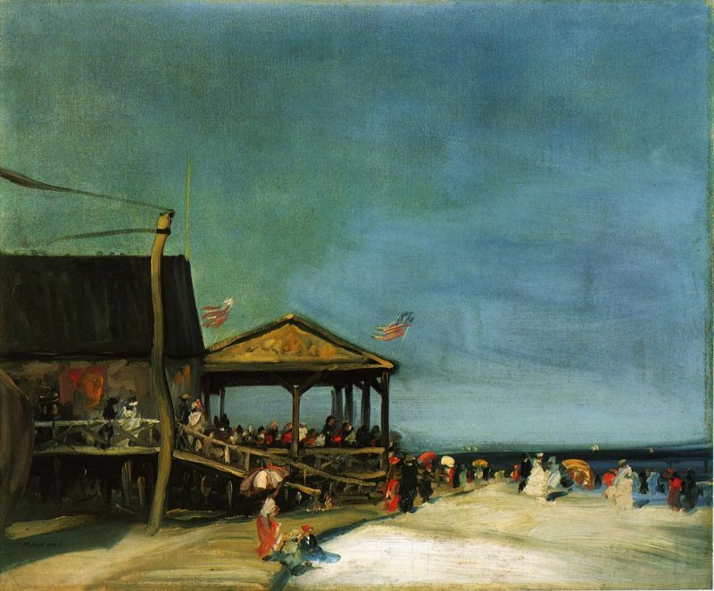 At Far Rockaway | Robert Henri | oil painting