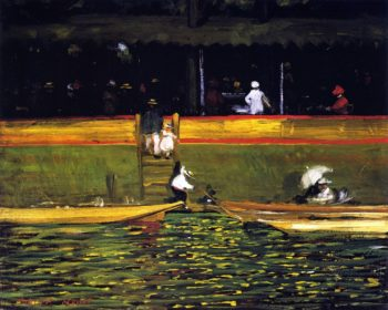 At Joinville | Robert Henri | oil painting