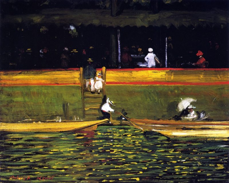 At Joinville   Robert Henri   oil painting