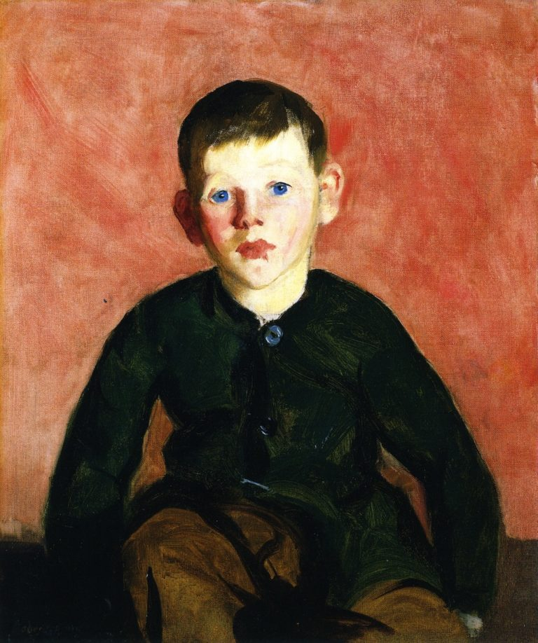 A Village Boy | Robert Henri | oil painting