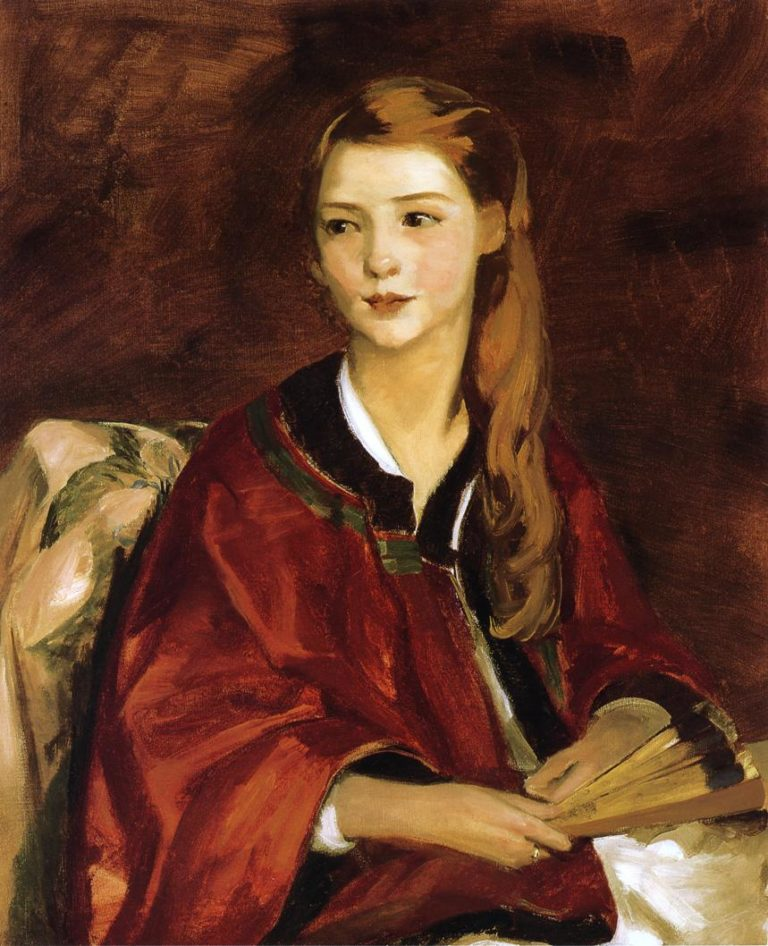 Beagrice Whittaker | Robert Henri | oil painting