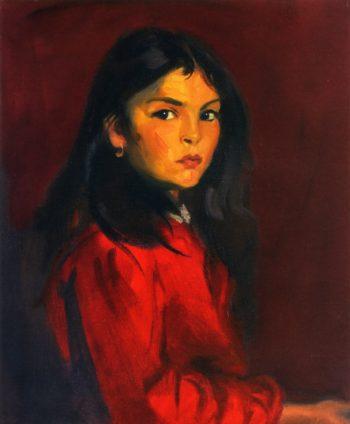 Berna Escudero | Robert Henri | oil painting