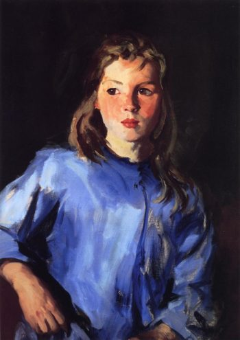 Blond Bridget Lavelle | Robert Henri | oil painting