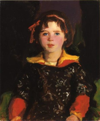 Bridgie | Robert Henri | oil painting