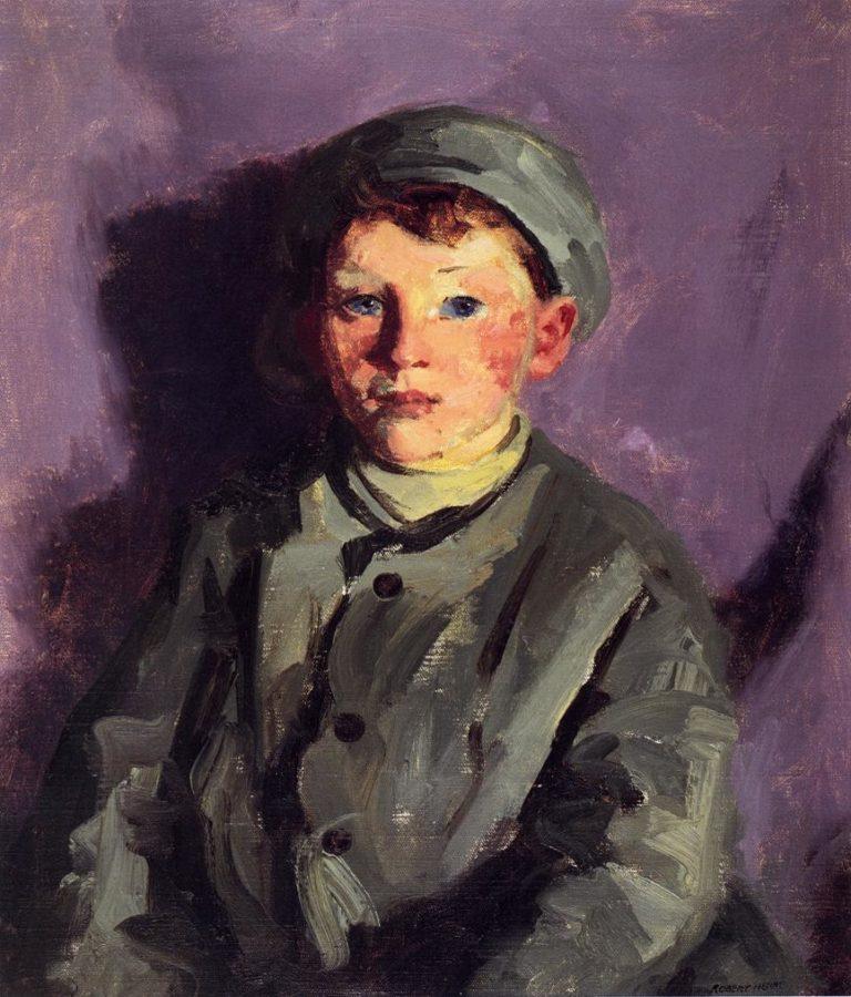 Bucko O'Malley   Robert Henri   oil painting