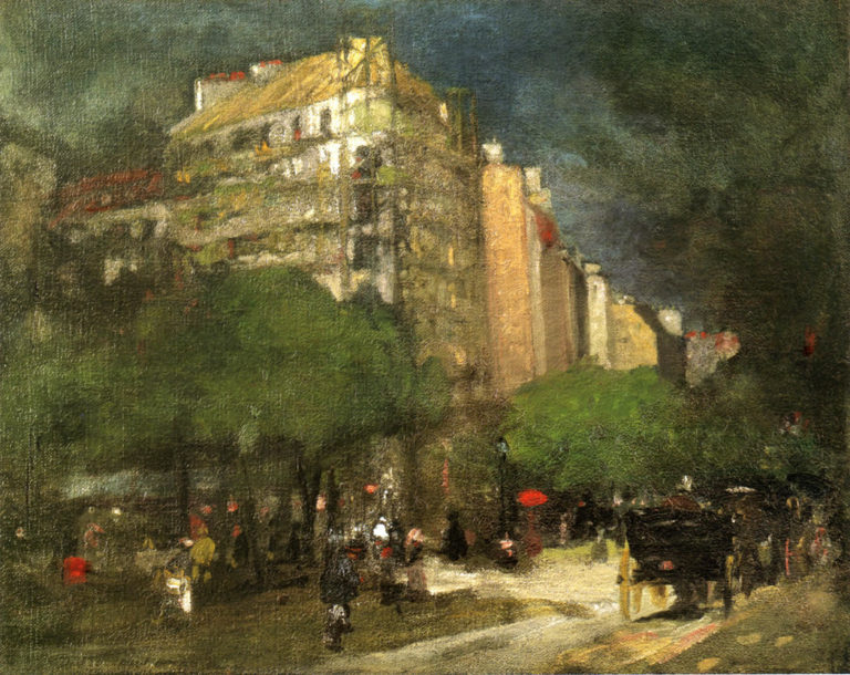 Cafe du Dome | Robert Henri | oil painting
