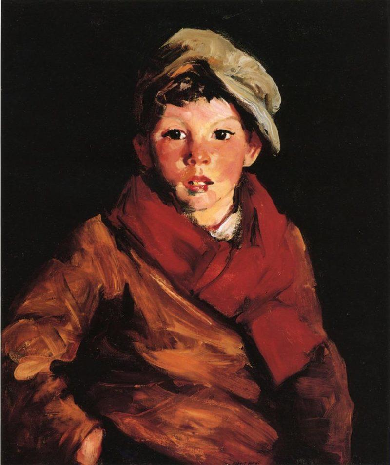 Cafferty   Robert Henri   oil painting