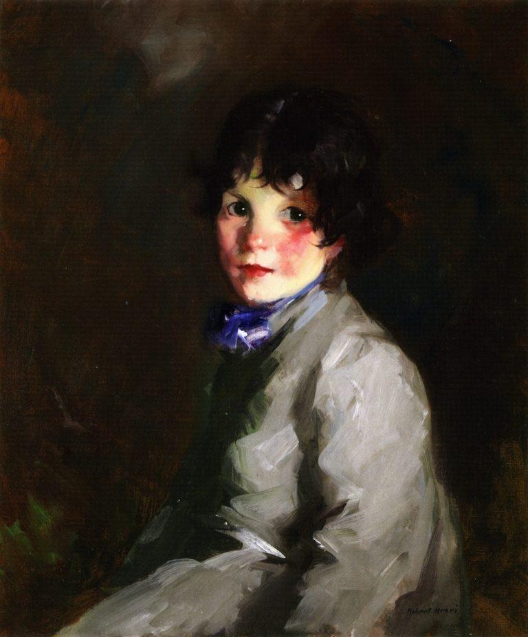 Catherine   Robert Henri   oil painting