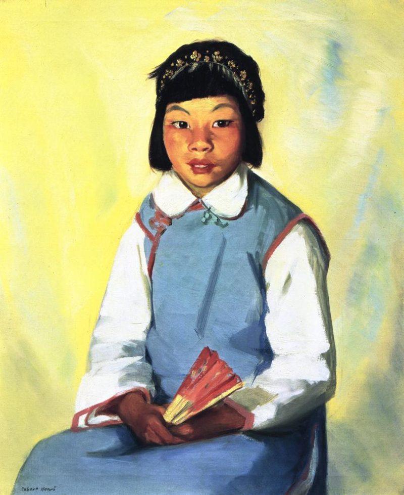 Chow Choy | Robert Henri | oil painting