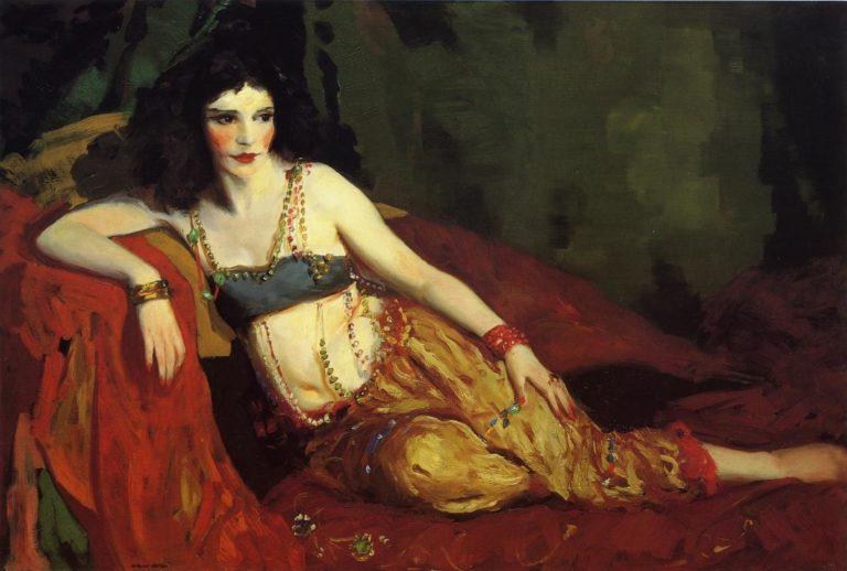 Dancer of Delhi | Robert Henri | oil painting