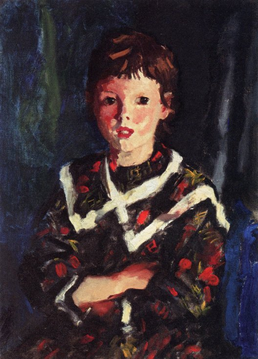 Dark Bridget Lavelle | Robert Henri | oil painting
