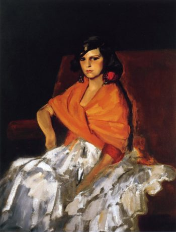 Dorita | Robert Henri | oil painting