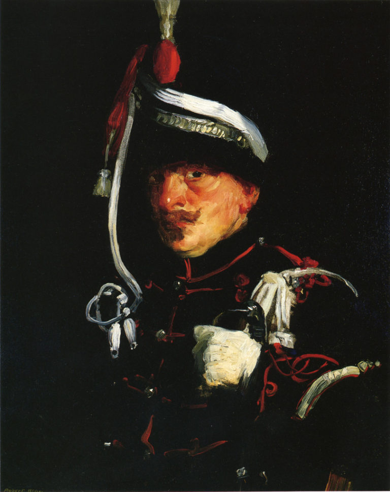 Dutch Soldier | Robert Henri | oil painting