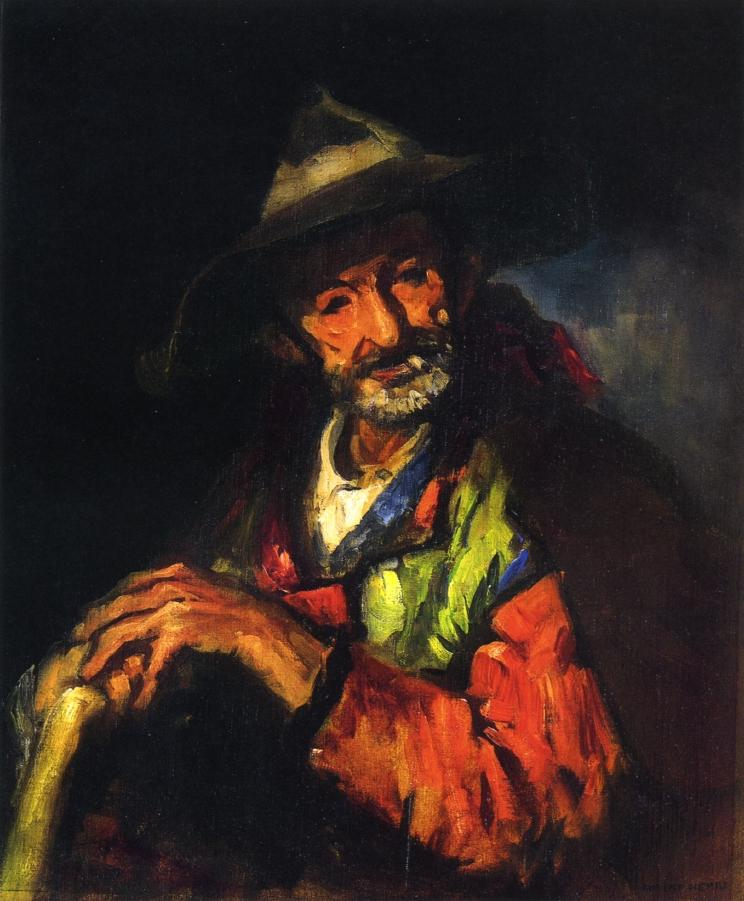 El Segoviano | Robert Henri | oil painting