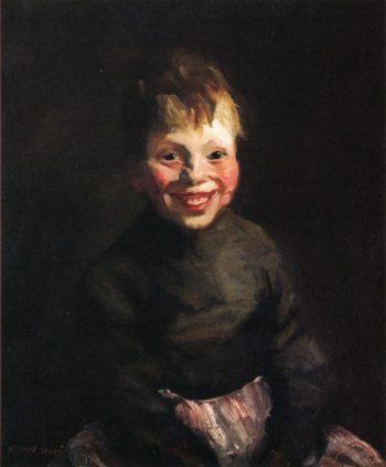 Fisherman's Daughter   Robert Henri   oil painting