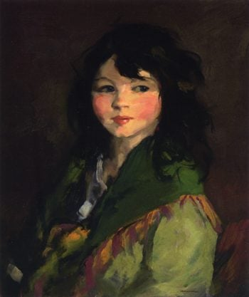 Francine | Robert Henri | oil painting