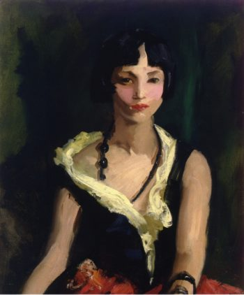 Francisquita | Robert Henri | oil painting